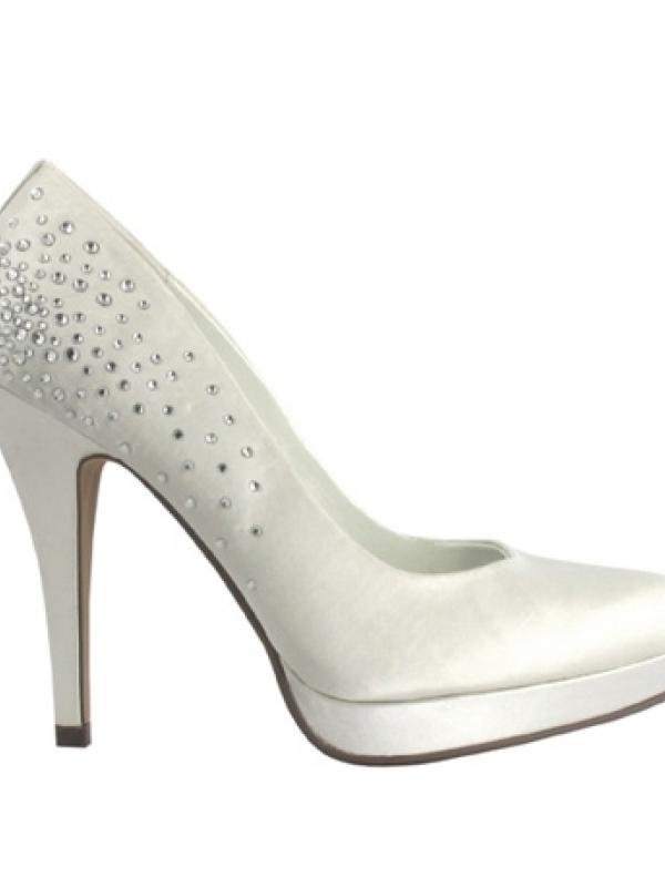 Pantofi mireasa Menbur 4773